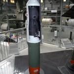 Modell Sojus Rakete Oberstufe 1:10